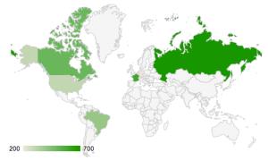 Geo Chart from Google